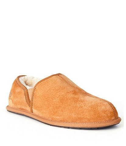 UGG® Men's Scuff Romeo II Suede Sheepskin Lined Slip On Slipper