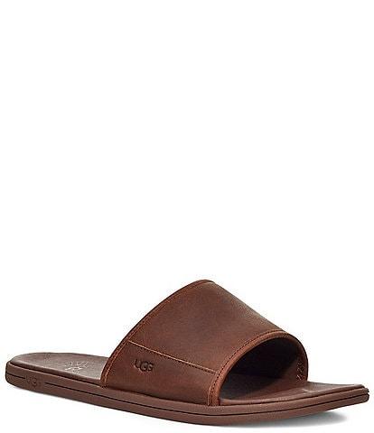 UGG® Men's Seaside Leather Slides