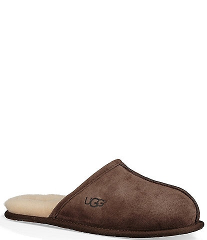 UGG® Men's Suede Scuff Slippers