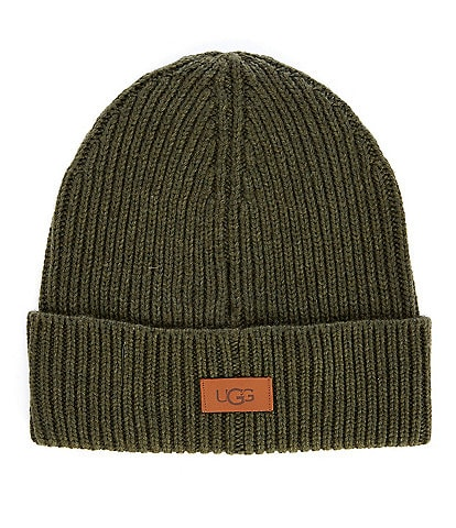 UGG Men's Wide Cuff Ribbed Beanie