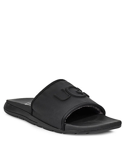 UGG® Men's Xavier Neoprene Graphic Logo Slide