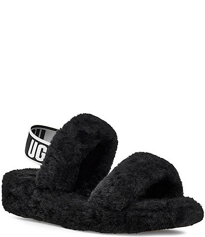 UGG® Oh Yeah Sheepskin Slides