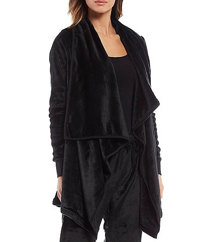 UGG Orla Open Blanket Fleece Lounge Cardigan