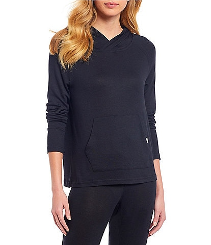 UGG Pilar Terry Knit Hoodie Lounge Pullover