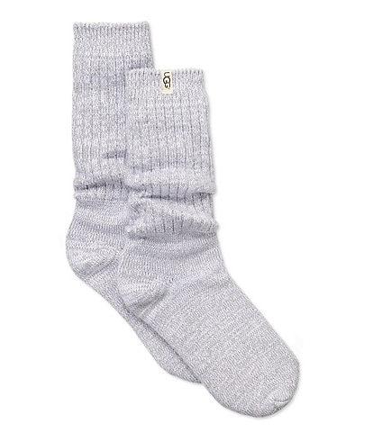 UGG Rib Knit Slouchy Crew Socks
