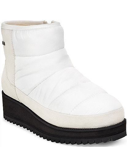 UGG® Ridge Mini Cold Waterproof Wedge Snow Booties