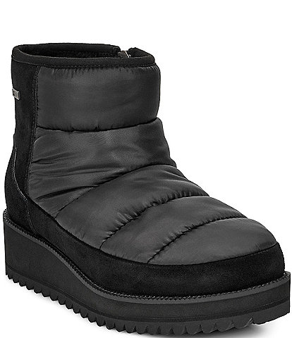 UGG Ridge Mini Cold Weatherproof Wedge Booties