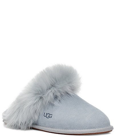 UGG® Scuff Sis Suede Fur Slippers