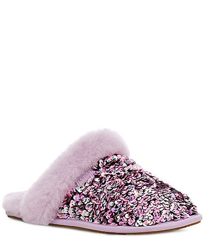 UGG® Scuffette II Stellar Sequin Embellished Slippers