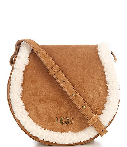 UGG® Sharon Sheepskin Trimmed Crossbody Bag