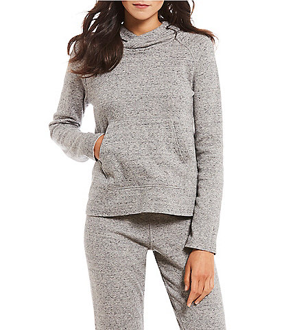 UGG Speckled Knit Fleece Hoodie