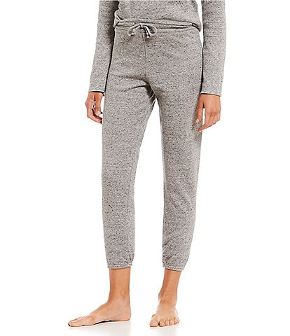 UGG Speckled Knit Fleece Lounge Jogger Pants
