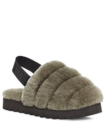 UGG® Super Fluff Fur Slippers