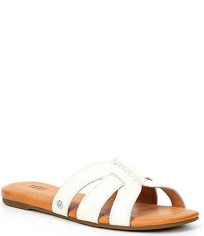 UGG® Teague Leather Sandals
