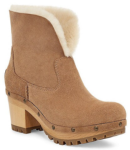 UGG® Thebes Suede Clogs