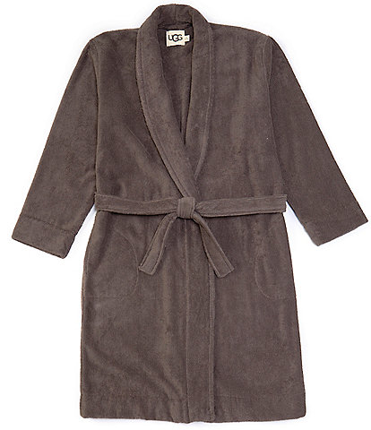 UGG Turner Ribbed Terry Shawl Collar Robe