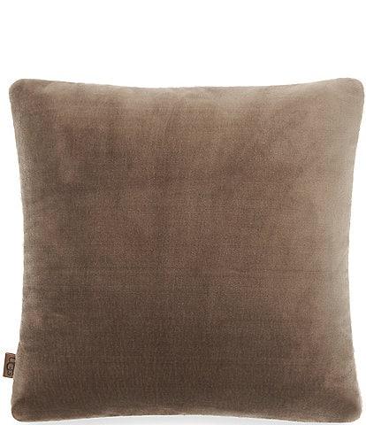 UGG Wade Plush Sherpa Square Pillow