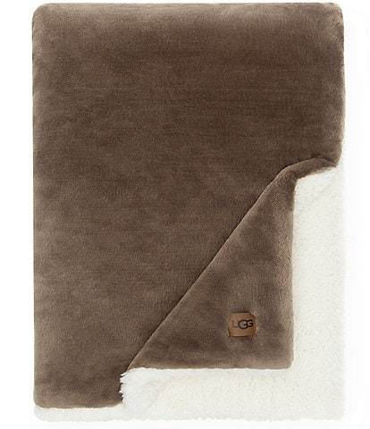 UGG Wade Plush Sherpa Throw