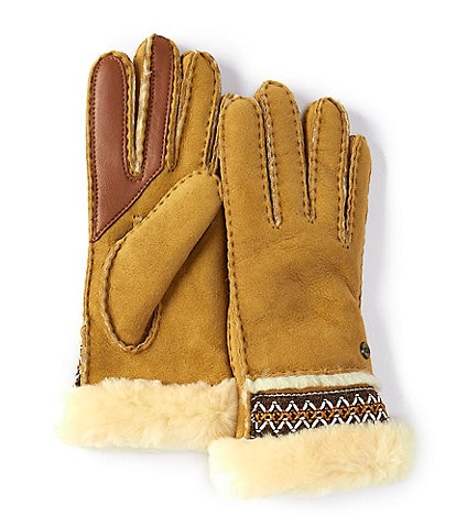 UGG Women's Sheepskin Tasman Tape Glove