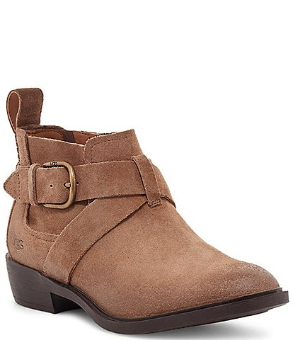 UGG® Wylma Waterproof Suede Booties