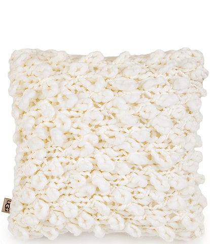 UGG Yasmin Sweater Knit Puff Loop Pillow
