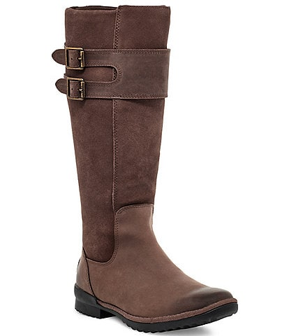 UGG® Zarina Waterproof Leather Boots