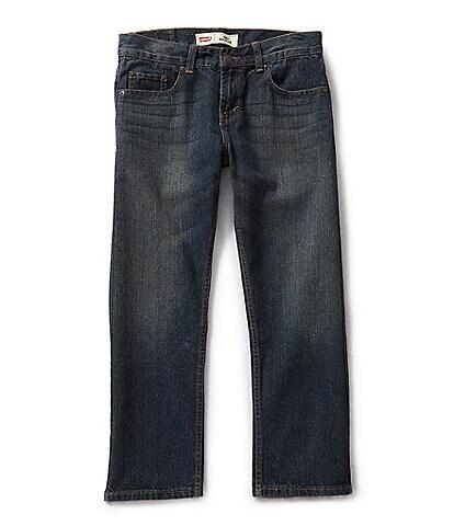 Levi/'s Boys 505 Jeans Size 12 Husky or 16 Husky Straight Leg Retail $44.00 NEW