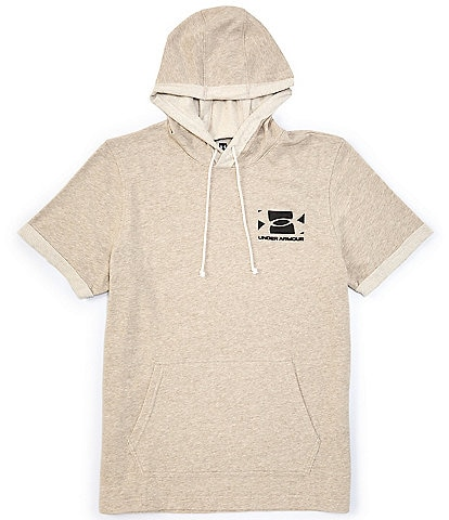 Under Armour Act Sportstyle Short-Sleeve French Terry Hoodie