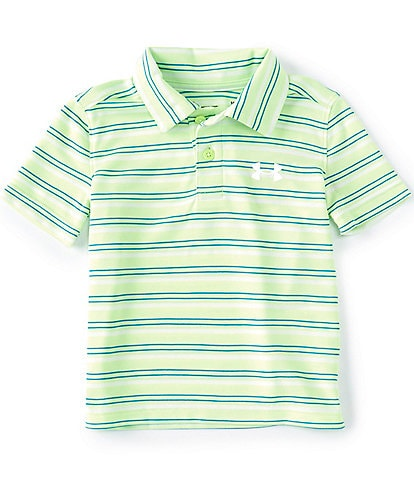 Under Armour Baby Boy 12-24 Months Short-Sleeve Stripe Polo Shirt
