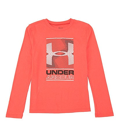 Under Armour Big Boys 8-20 Long-Sleeve MFO Graphic Tee