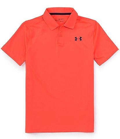 Under Armour Big Boys 8-20 Performance Short-Sleeve Solid Polo Shirt