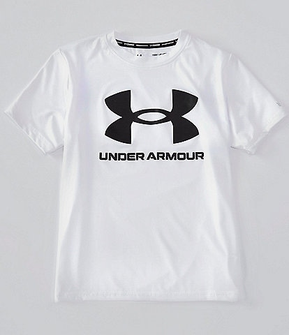 Under Armour Big Boys 8-20 Short-Sleeve Core Surf Rashguard