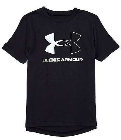 Under Armour Big Boys 8-20 Short-Sleeve Live Rival Core Tee