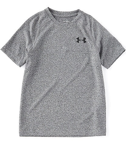 Under Armour Big Boys 8-20 Short-Sleeve Tech Tee