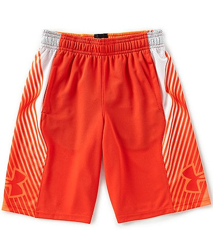 Under Armour Big Boys 8-20 Space The Floor Shorts