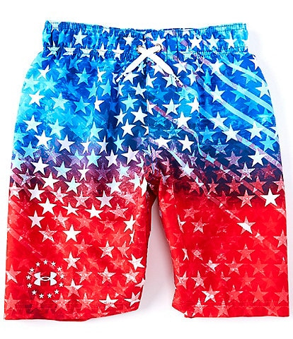 Under Armour Big Boys 8-20 UA Americana Volley Swim Shorts