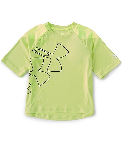 Under Armour Big Girls 7-16 Short-Sleeve Sun Armour Graphic Tee
