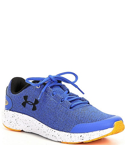 Under Armour Boys' Charged Pursuit 2 Twisted Mesh Running Shoes (Youth)