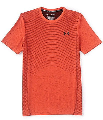 Under Armour HeatGear® Fitted Seamless Wave Short-Sleeve T-Shirt