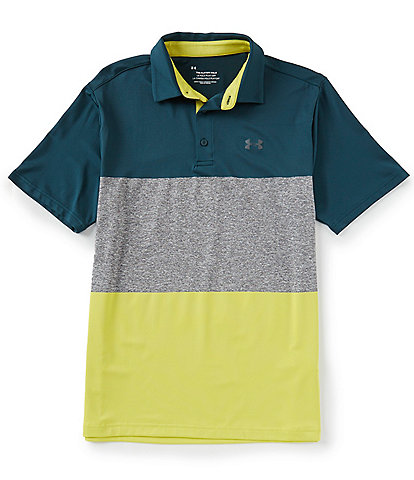 Under Armour Golf Short-Sleeve Loose Playoff Polo 2.0