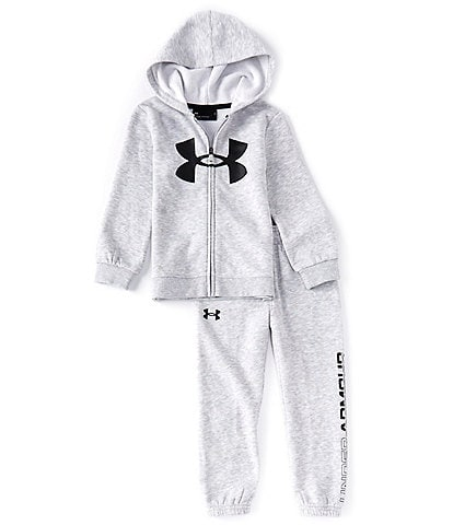 Under Armour Little Boys 2T-7 Boxed Logo Hoodie & Jogger Pant Set