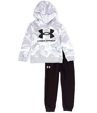 Under Armour Little Boys 2T-7 Camo Sweatshirt & Jogger Pant Set