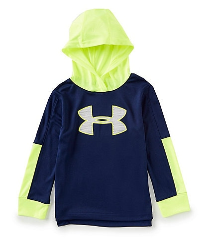 Under Armour Little Boys 2T-7 Long-Sleeve Pieced Hoodie