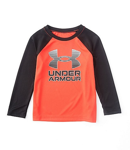 Under Armour Little Boys 2T-7 Long-Sleeve Symbol Raglan Tee