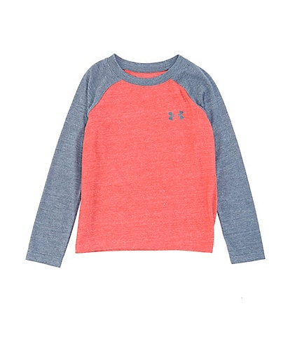 Under Armour Little Boys 2T-7 Raglan Long-Sleeve Tri-Blend Tee