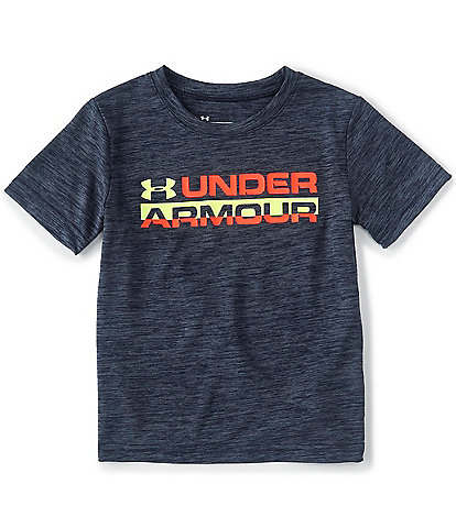 Under Armour Little Boys 2T-7 Short-Sleeve Horizon Branded Twist Tee