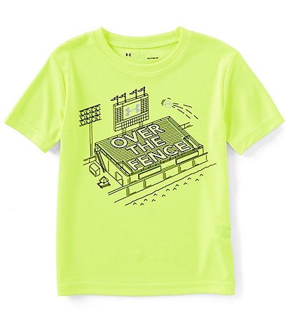 Under Armour Little Boys 2T-7 Short-Sleeve Over The Fence Graphic Tee