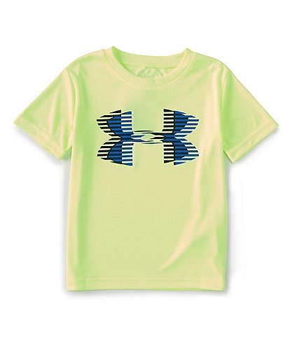 Under Armour Little Boys 2T-7 Short Sleeve UA Big Logo Tee