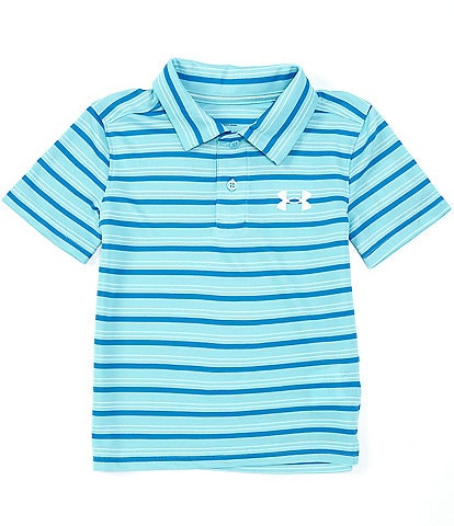 Under Armour Little Boys 2T-7 Short-Sleeve UA Match Play Stripe Polo Shirt