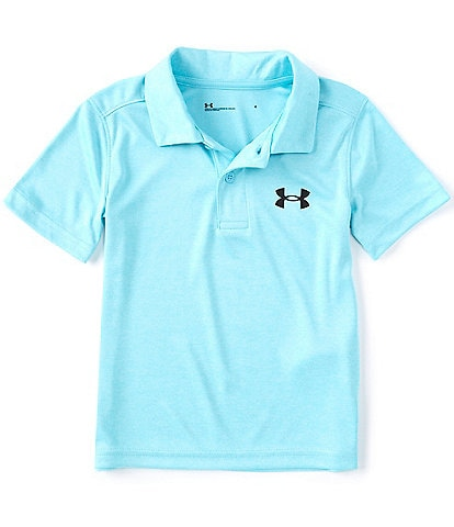 Under Armour Little Boys 2T-7 Short-Sleeve UA Match Play Twist Polo Shirt